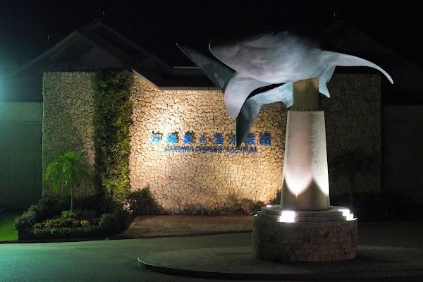美ら海水族館看板