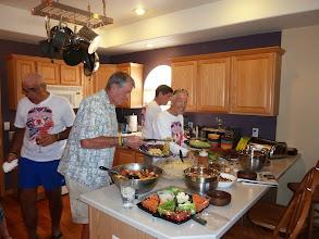 Photo: Day 20 Casper, Fantastic dinner provided at the home of Jim Hirz, of Casper.