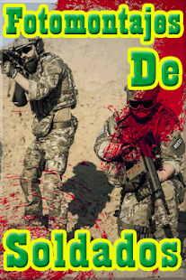 Fotomontajes de Soldados Gratis - náhled