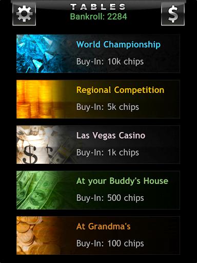 Offline Texas Holdem Poker 5.14 screenshots 9