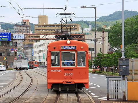 伊予鉄道 松山市内線 2005形