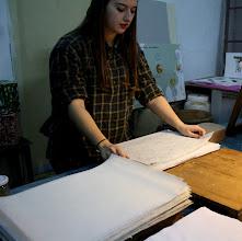 Photo: La preparazione della carta 5