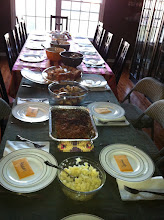 Photo: Thanksgiving table