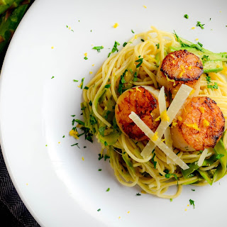 Pasta With Scallops And Asparagus Recipes