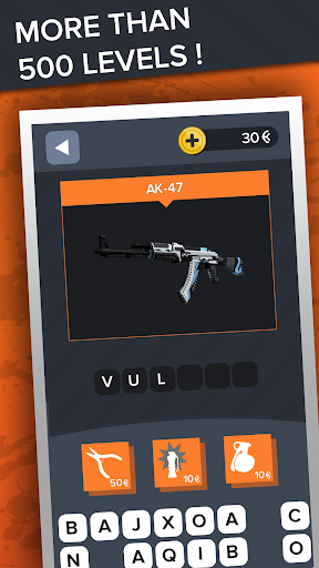 Ultimate Quiz for CS:GO - Skins | Cases | Players screenshots 12