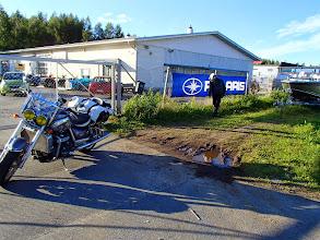 Photo: Oulu, Motorman. Jarrupalat on jossain täällä...