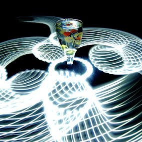 light net by Mervin Anto - Abstract Light Painting ( experiments, tabletop, light art )