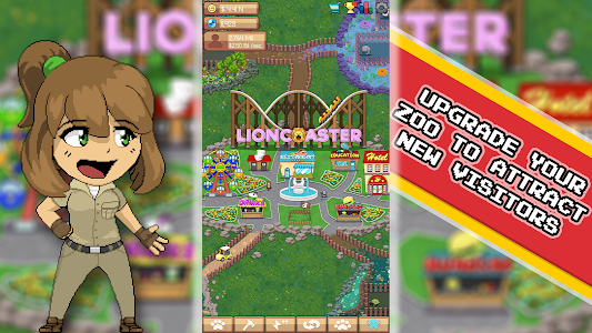 Idle Zoo Tycoon: Tap, Build & Upgrade a Custom Zoo 1 0 0 APK