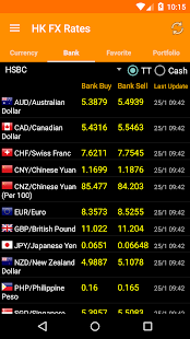 Hong Kong FX Rates- screenshot thumbnail