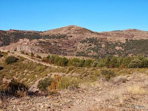 Photo: Coll de Montsor: Montsor, lo Tossalet i el Roc de Sant Aventí