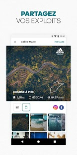 adidas Running by Runtastic : course à pied Capture d'écran
