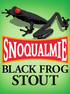 Logo of Snoqualmie Black Frog Oatmeal Stout Nitro