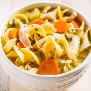 Easy 30-Minute Homemade Chicken Noodle Soup.