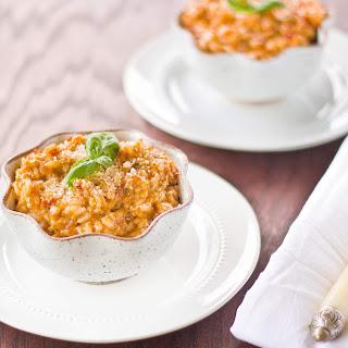 Sun-dried Tomato Pesto Risotto