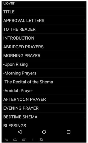 android BRIT OLAM SIDDUR FOR NOACHIDES Screenshot 2