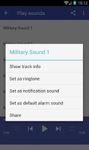 Military sounds - náhled