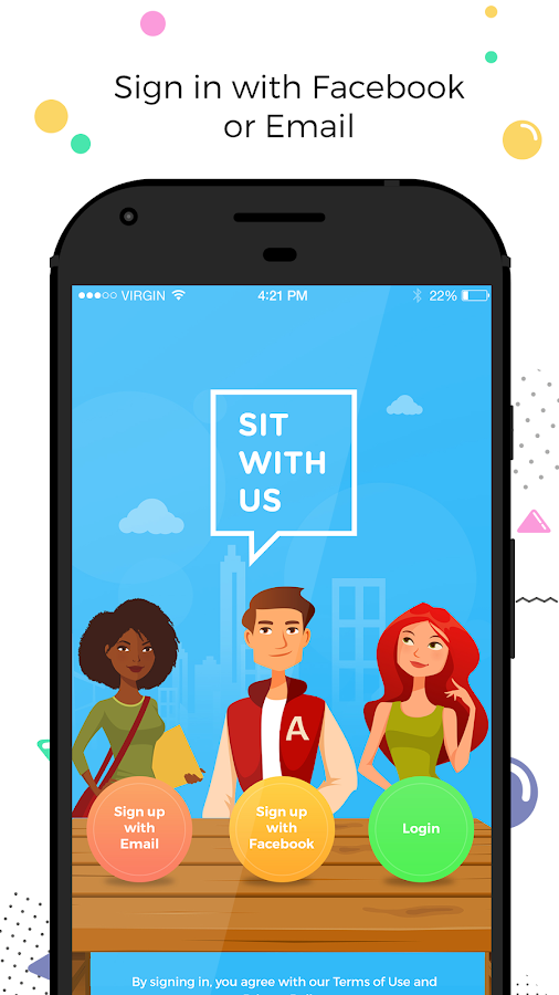 Sit With Us- screenshot