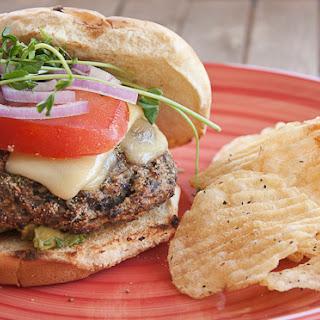 Homemade Mushroom Burgers
