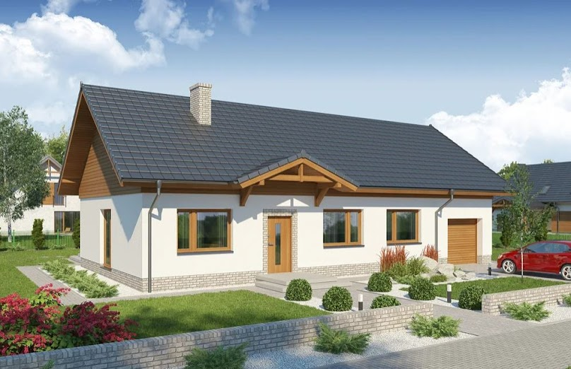 Projekt domu Enzo PS