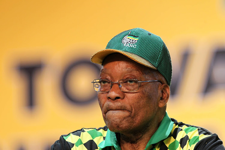 Outgoing president of the ANC, Jacob Zuma.