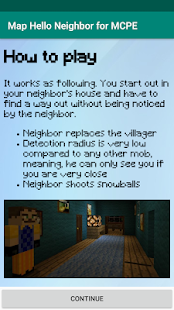 Map Hello Neighbor for MCPE Screenshot