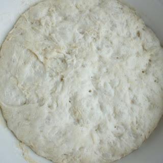 No Knead Overnight Pizza Dough