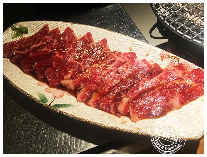 中堂燒肉 富民店佐醬牛五花330元
