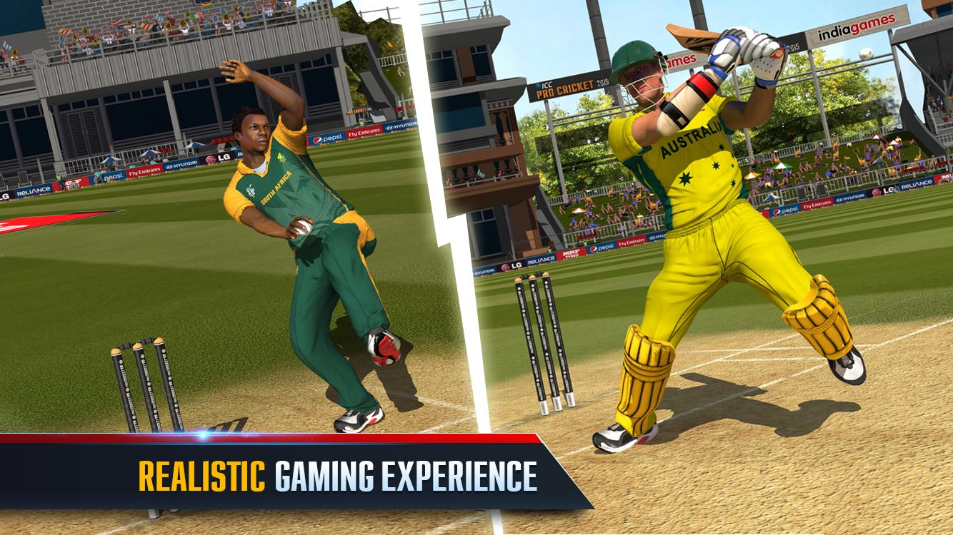 ICC Pro Cricket 2015 MEGA MOD for Android