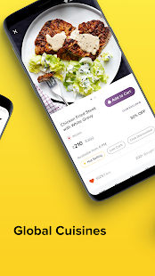 FreshMenu - Food Ordering App Screenshot