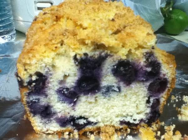 Blueberry Muffin(s) Bread With Lemon Crunch