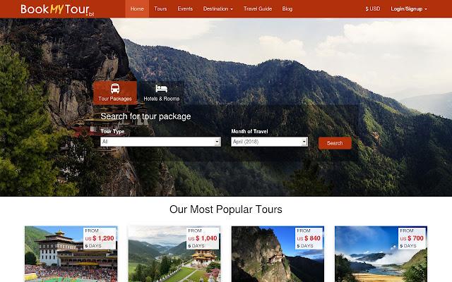 Bhutan Tour Booking