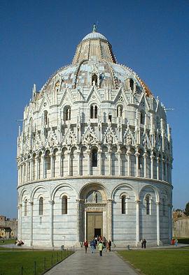 foto de Baptisterio de Pisa VIAJE A ITALIA 2019 IES ESCULTOR