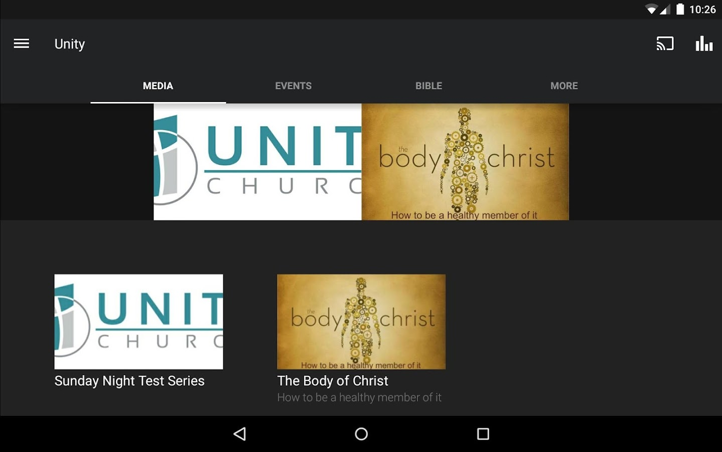 Unity Church - NC- screenshot