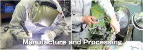 溶接、機械加工イメージ