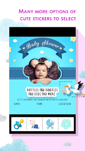 Baby Shower Invitation Card Maker 5