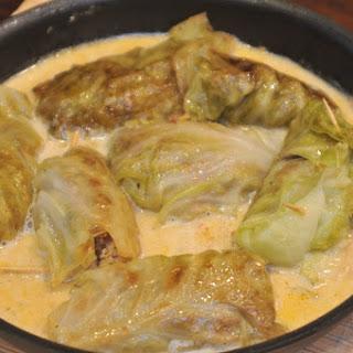 German Stuffed Cabbage Rolls Recipe