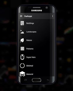 Darkops : Fondos de pantalla AMOLED Screenshot