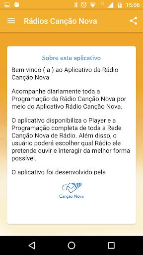 Rádio Canção Nova 3.5.1 screenshots 5