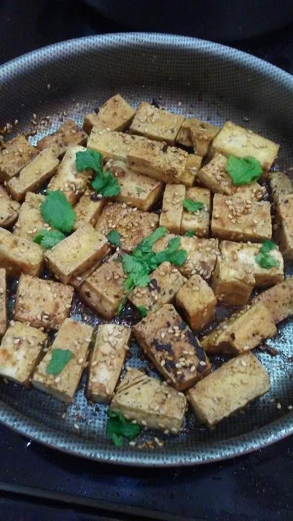Crispy Sesame Ginger Tofu