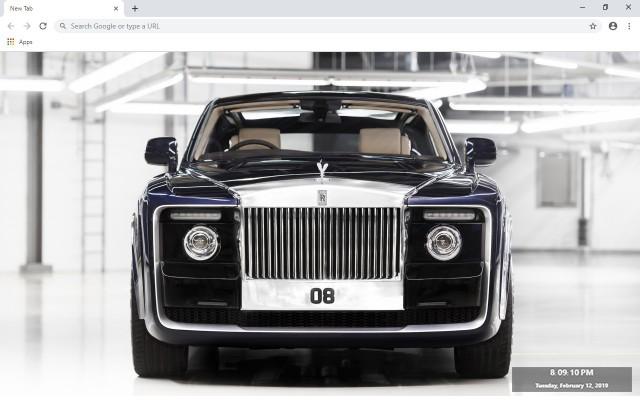 Rolls-Royce Sweptail New Tab