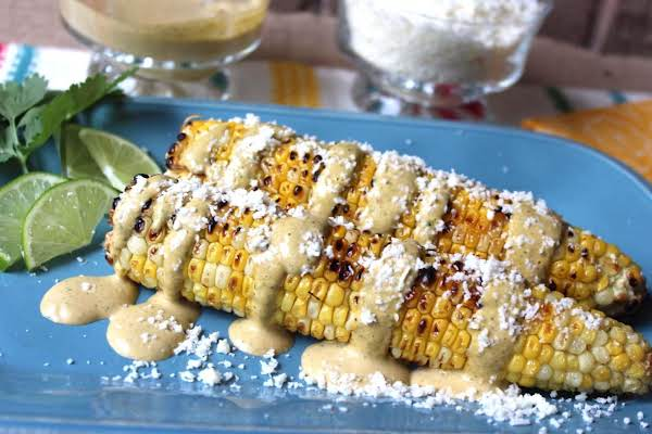 Chipotle Mayo Topping For Roasted Corn On The Cob Recipe
