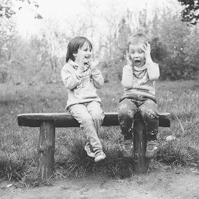 by Zbigniew Cołbecki - Black & White Portraits & People (  )
