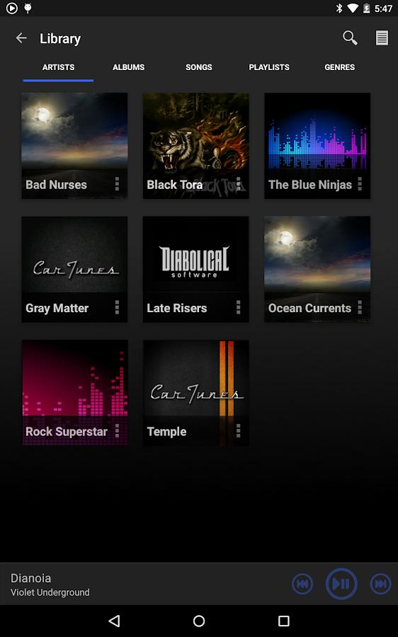 Car Tunes Music Player Pro- screenshot