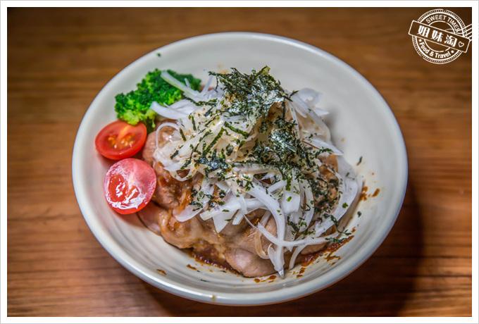 喝郎燒烤台式薑汁豬肉丼飯