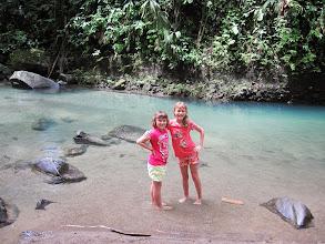 Photo: Pool at the La Fortuna waterfall