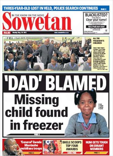 Sowetan newspaper latest news