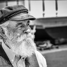 Mr. California by Autumn Wright - Black & White Portraits & People ( california, man, black and white, portrait, san francisco )