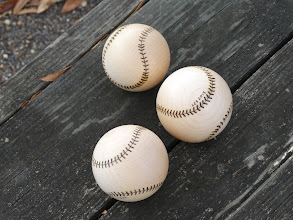 Photo: Three maple baseballs (12/2015)