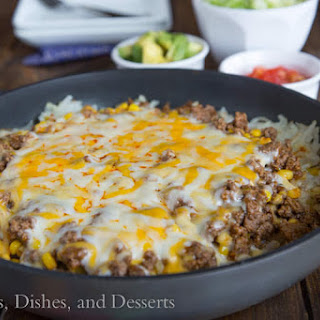 Hashbrown Enchilada Skillet