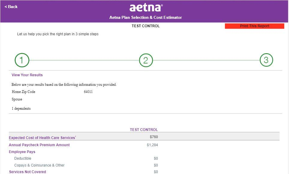Welcome to Aetna Student Health